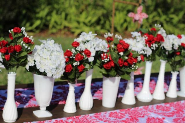 milk glasslong vases,short vases, center pieces, candy compotes,flower pots,urns,goblets,teacup and saucers