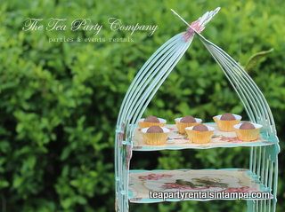 Pastry Stand Bird Collection Tea Party Company