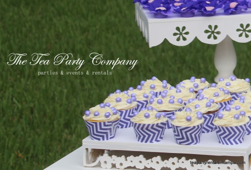Purple & Lavender Theme Candy Table (6)