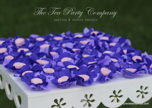 Purple & Lavender Theme Candy Table