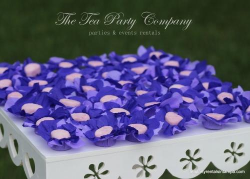 Purple & Lavender Theme Candy Table