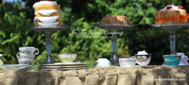 Afternoon Garden Tea Party (4)