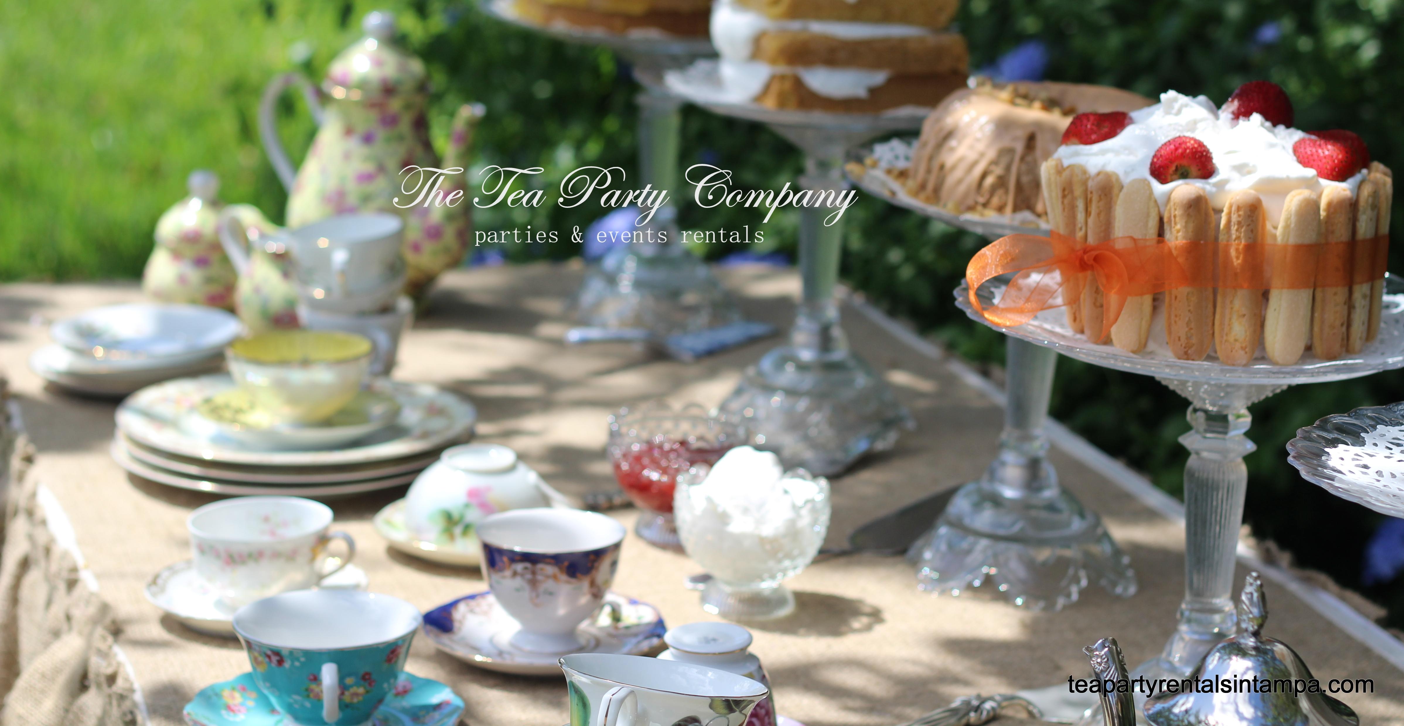 The Tea Party Company Parties Events Fabricators