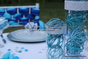 Centerpieces 3 different sizes  clear glass