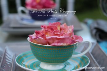 The Tea Party Company Tea Teacup & Flower
