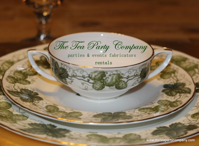 The Tea Party Company Royal Worcester Mathon Vintage 1965