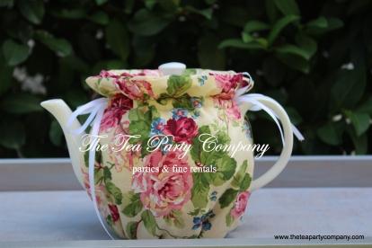 floral print cozy teapot cover
