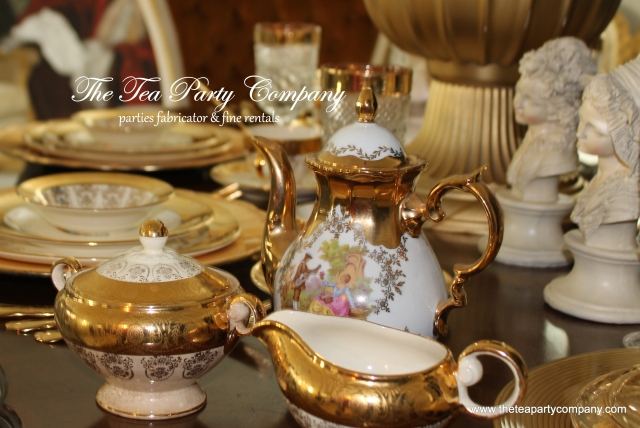 The Tea Party Company French Marie Aintoinette Tea Party (5)